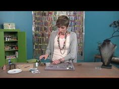 Candie Cooper transforms leather into contemporary jewelry designs (2504-1) - YouTube