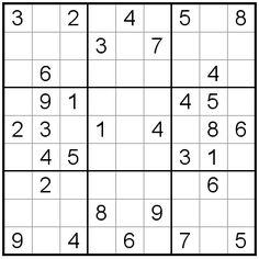 Printable Easy Sudoku on Easy Sudoku Puzzles 1 4 Printfreegames ...