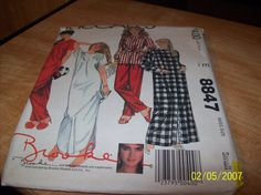 McCalls 8847 Vintage Misses Robe Nightgown by stephaniesyarn, $7.00