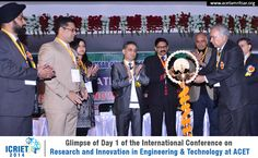 The department of Electronics and Communication Engineering of ACET, Amritsar conducted 1st International Conference on Research and Innovation in Engineering and Technology (ICRIET-14)