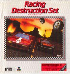 Racing Destruction Set (C64)