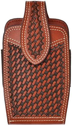 Traditional cowboy styling to keep your phone secure and easily accessible. Western Cell Phone Holsters. 3D Belt Company Large Tan Smartphone Holder / Holster with Basket Weave, Hand Stamped, Tooling. Fits Iphone 5, Galaxy's and similar large smartphones and phones with bulky protective cases. http://www.amazon.com/dp/B00LCJQ0F2/ref=cm_sw_r_pi_awdm_i2A3tb02QN0NH