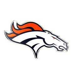 Team ProMark CE3NF10 Denver Broncos Embossed Color Emblem 3.25