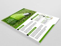 Green Energy Flyer-V30 by Template Shop on @creativemarket