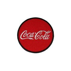 "Patch Iron On Sew On "" Coca Cola "" Retro Vintage Rockabella Embroidered MC 3,6 cm / 9,4 cm - 1.4 Inch / 3.8 Inch: Amazon.co.uk: Car & Motorbike (9.21 CAD) found on Polyvore featuring patches and filler"