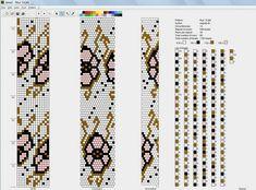 100 схем для вязания шнуров на 13-14 бисерин / Вязание с бисером / Biserok.org