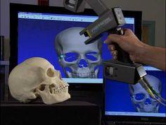 Polhemus FastSCAN 3D Laser Scanner - YouTube