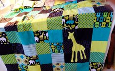 Quilt made by my daughter for her nephew!!