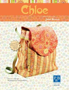 Free Sewing Pattern Chloe Back Pack Patterns > Free Sewing / Quilt Patterns