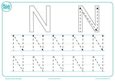 Fichas de gramotricidad con letras - Mundo Primaria Mini Mundo, Tracing Letters, Line Chart, Literacy, Education, Math, Planes, Alphabet, Wire