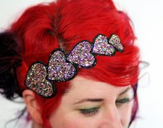 Cute glitter headband. x