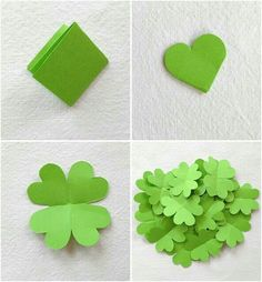 DIY Box für Geldgeschenke - Easy Crafts for All Diy Silvester, Silvester Party, St Patrick's Day Crafts, Fun Crafts, Diy And Crafts, Fete Saint Patrick, Diy For Kids, Crafts For Kids, Arts And Crafts