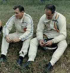 Special Kiwis....Bruce McLaren and Denny Hulme