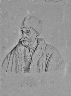 Γεώργιος Σισίνης στον Πόρο Μολύβι σε χαρτί