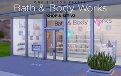 One Billion Pixels: Bath & Body Works Shop V2 • Sims 4 Downloads