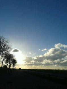 Sky nearer Benschop