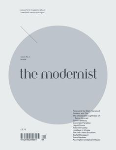 The Modernist  issue 4 'brutal'