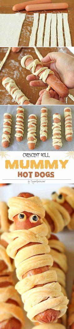 Elle enroule de la pâte sur de la saucisse! Le résultat émerveille les enfants! - Cuisine - Trucs et Bricolages