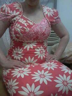 خياطه وتعليم كل الموديلات – Communauté – Google+ Little Girl Dress Patterns, Little Girl Dresses, Girls Dresses, Dress Neck Designs, Blouse Designs, Anarkali Gown, Batik Dress, African Print Fashion, Curvy Women Fashion