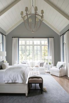 44 Modern And Simple Bedroom Design Ideas The post 44 Modern And Simple Bedroom Design Ideas & home/deco appeared first on Master bedroom ideas . Bedroom Retreat, Dream Bedroom, Home Bedroom, Modern Bedroom, Bedroom Inspo, Bedroom Interiors, Bedroom Furniture, Large Bedroom, Hamptons Bedroom