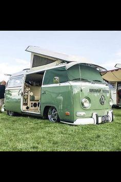 Kampin Hot Vw, Vw Bus, Van, Vehicles, Vw Camper Vans, Vans, Cars, Vehicle