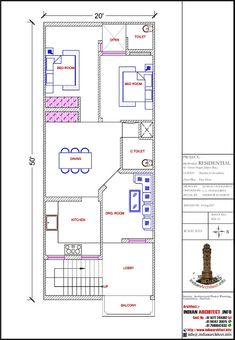 2bhk House Plan, Model House Plan, House Layout Plans, Family House Plans, Narrow House Designs, Modern Small House Design, Minimalist House Design, Cool House Designs, Bungalow House Design