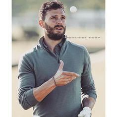 Sexy, Bad Golfer #JamieDornan #Sexy #Hot #BadGolfer #Perfect #BabyLove #Tea... | Iconosquare