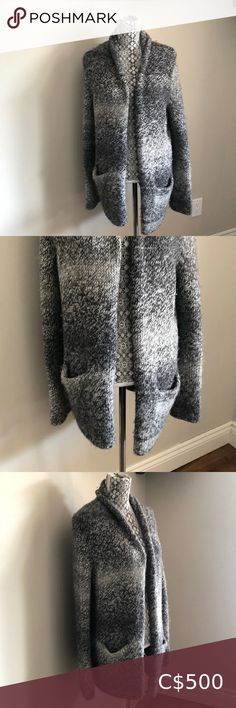JIL SANDER IT 40 alpaca wool cardigan Insanely soft !!! Alpaca is amazing . Jil Sander Sweaters Cardigans