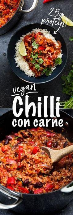 Easy Vegan Chilli Con Carne