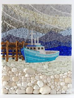 Iced In Seascapes | The Mosaic Art of Terry Nicholls