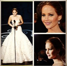 Jennifer Lwarence won Oscar for Best Actress for her role in Silver Linings Playbook!!