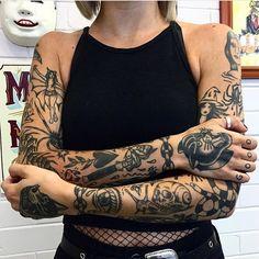 Tattoos byGrace Audrey
