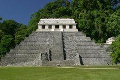 Templo de las inscripciones - Palenque, México