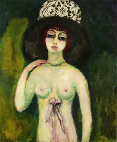The Lace Hat, Kees van Dongen, 1910