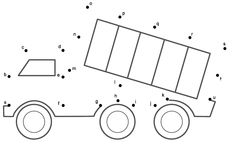 This Dump Truck connect the dots page is a great activity for kids who are learning about transportation. This page is printable and helps kids practice connecting the dots, counting by (Connect . Kindergarten Worksheets, Worksheets For Kids, Printable Worksheets, Preschool Activities, Hindi Worksheets, Preschool Programs, Truck Coloring Pages, Coloring Pages For Kids, Joining Dots