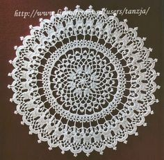 Lots of doilies behind this link. Not in english but graphs r good enough