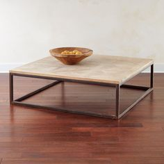 Parquet Coffee Table Square
