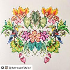 #Repost @johannabasfordfan with @repostapp #johannabasford #secretgarden #mijngeheimetuin #jardimsecreto #florestaencantada #hetbetoverdewoud #echantedforest #lostocean #oceanoperdido #deverborgenoceaan #kleurenvoorvolwassenen #coloringforadults #jardinsecret #foretenchantee #magicaljungle #selvamagica #demagievandejungle USED: faber castell polychromos