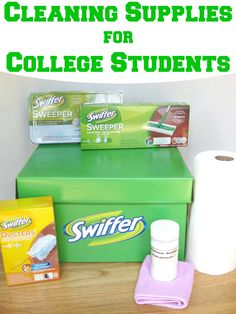 Cleaning Supplies for College Students - Organized 31 #SwifferEffect #sponsored