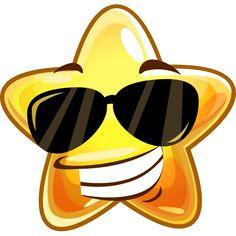 Sunglasses Star Sticker