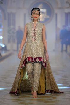 Pakistani Bridal Fashion - Pantene Bridal Couture Week PBCW 2013 - Zainab Chottani