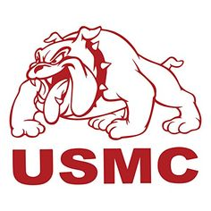 United States Marine Corps (USMC) Full Body Bulldog Indoor/Outdoor Vinyl Decal, MultiPurpose - For Your Auto, Wall Purchase this product along with all of our other spectacular decals through one of the following links:   https://www.etsy.com/shop/MiaBellaDesignsWI  http://www.amazon.com/s?marketplaceID=ATVPDKIKX0DER&me=A2MSEOIVL689S1&merchant=A2MSEOIVL689S1&redirect=true