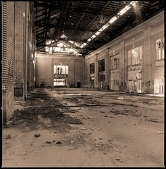 Michigan Central Station by Kevin Bauman, via Behance