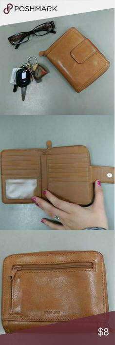 Leather wallet Used leather wallet Accessories