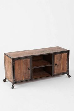 Maybe something like this? (4040 Locust Industrial Media Console | Urban Outfitters)