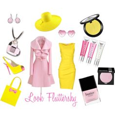 Look inspiré de Fluttershy (My Little Pony: Friendship is Magic) by etreradieuse, via Polyvore
