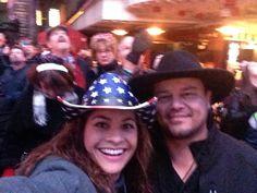 New year in Las Vegas. How joy. A lot of fun.