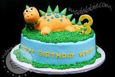 12 Dinosaur Birthday Cake Ideas We Love - Spaceships and Laser Beams