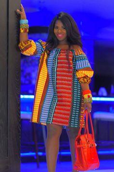 Kente Dress, Off Shoulder Dresses, Ankara Fabric, African Dress, Different Fabrics, Tilt, Day Dresses, Casual Chic, Night Out