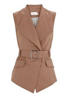 Karen Millen Gentish Tailored Waistcoat